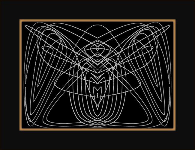 [Entomologie bi-chromatique] Insecte #4 La mante religieuse [2015-2017] (Création et conception graphique de Didier Desmet) [Artiste Infirme Moteur Cérébral] [Infirmité Motrice Cérébrale] [IMC] [Paralysie Cérébrale] [Cerebral Palsy] [Handicap]