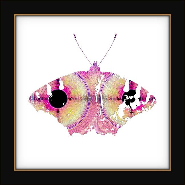 [Entomologie chromatique] Papillon #7 [2017] (Création et conception graphique de Didier Desmet) [Artiste Infirme Moteur Cérébral] [Infirmité Motrice Cérébrale] [IMC] [Paralysie Cérébrale] [Cerebral Palsy] [Handicap]