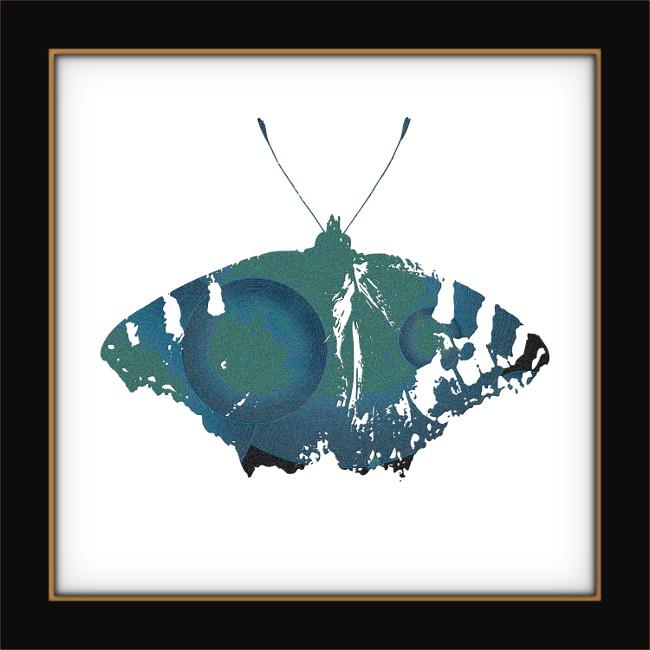 [Entomologie chromatique] Papillon #8 [2017] (Création et conception graphique de Didier Desmet) [Artiste Infirme Moteur Cérébral] [Infirmité Motrice Cérébrale] [IMC] [Paralysie Cérébrale] [Cerebral Palsy] [Handicap]