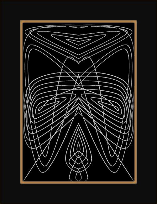[Entomologie bi-chromatique] Insecte #3 L`abeille [2015-2017] (Création et conception graphique de Didier Desmet) [Artiste Infirme Moteur Cérébral] [Infirmité Motrice Cérébrale] [IMC] [Paralysie Cérébrale] [Cerebral Palsy] [Handicap]