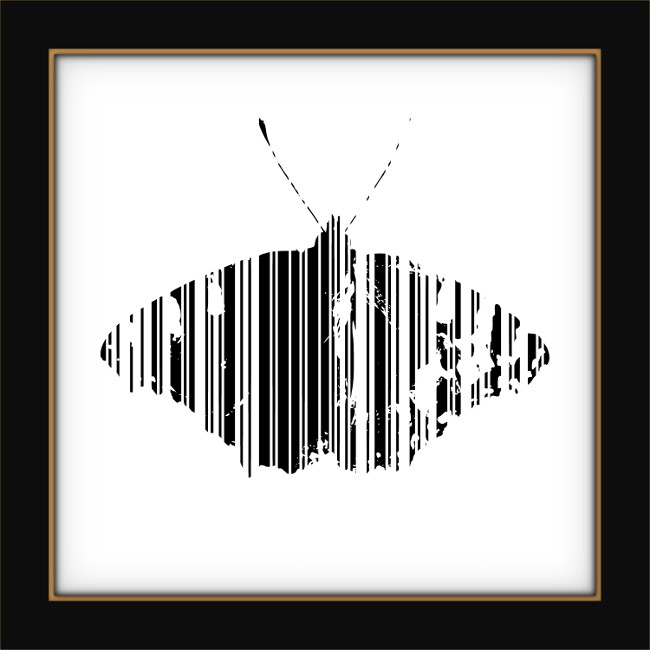 [Entomologie chromatique] Papillon #10 [2017] (Création et conception graphique de Didier Desmet) [Artiste Infirme Moteur Cérébral] [Infirmité Motrice Cérébrale] [IMC] [Paralysie Cérébrale] [Cerebral Palsy] [Handicap]
