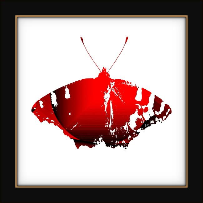 [Entomologie chromatique] Papillon #9 [2017] (Création et conception graphique de Didier Desmet) [Artiste Infirme Moteur Cérébral] [Infirmité Motrice Cérébrale] [IMC] [Paralysie Cérébrale] [Cerebral Palsy] [Handicap]