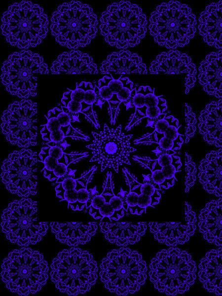 Adoration [2012] (Création et conception graphique de Didier Desmet) [Motif] [Pattern] [Motifs] [Patterns] [Artiste Infirme Moteur Cérébral] [Infirmité Motrice Cérébrale] [IMC] [Paralysie Cérébrale] [Cerebral Palsy] [Handicap]