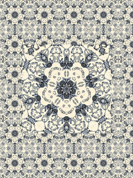 Anges gardiens [2012] (Création et conception graphique de Didier Desmet) [Motif] [Pattern] [Motifs] [Patterns] [Artiste Infirme Moteur Cérébral] [Infirmité Motrice Cérébrale] [IMC] [Paralysie Cérébrale] [Cerebral Palsy] [Handicap]