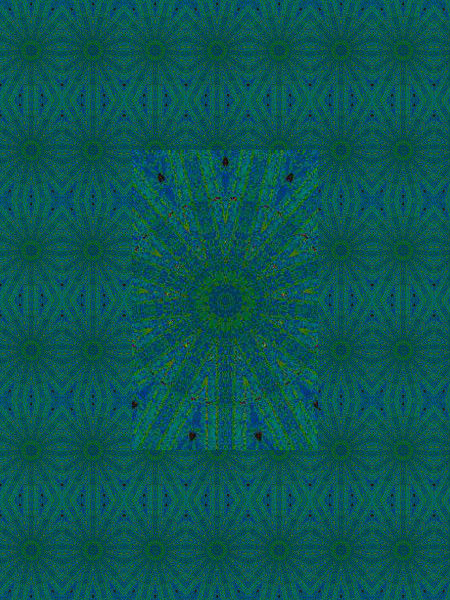 Arachnides-Mosaïque [2012] (Création et conception graphique de Didier Desmet) [Motif] [Pattern] [Motifs] [Patterns] [Artiste Infirme Moteur Cérébral] [Infirmité Motrice Cérébrale] [IMC] [Paralysie Cérébrale] [Cerebral Palsy] [Handicap]