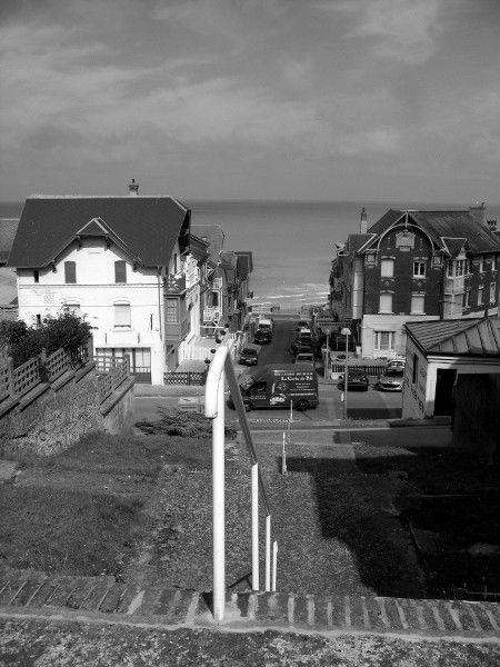 Ault (Somme - 80460) [2011] (Photo de Didier Desmet) Camion Noir et blanc Juillet [Artiste Infirme Moteur Cérébral] [Infirmité Motrice Cérébrale] [IMC] [Paralysie Cérébrale] [Cerebral Palsy] [Handicap]