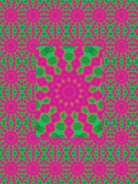 Aura psychédélique [2012] (Création et conception graphique de Didier Desmet) [Motif] [Pattern] [Motifs] [Patterns] [Artiste Infirme Moteur Cérébral] [Infirmité Motrice Cérébrale] [IMC] [Paralysie Cérébrale] [Cerebral Palsy] [Handicap]