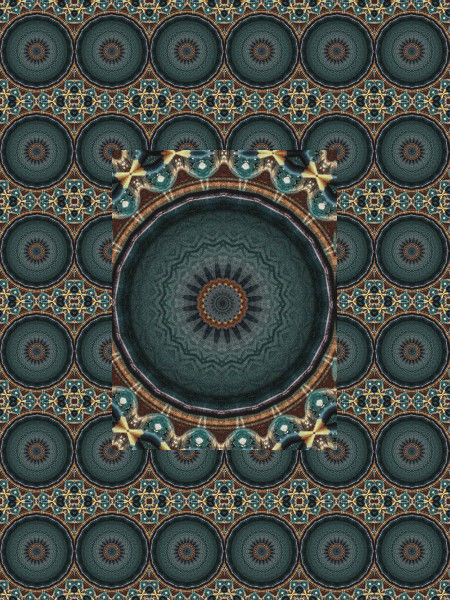 Azulejos maures [2012] (Création et conception graphique de Didier Desmet) [Motif] [Pattern] [Motifs] [Patterns] [Artiste Infirme Moteur Cérébral] [Infirmité Motrice Cérébrale] [IMC] [Paralysie Cérébrale] [Cerebral Palsy] [Handicap]