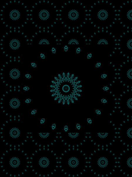 Butineuses [2012] (Création et conception graphique de Didier Desmet) [Motif] [Pattern] [Motifs] [Patterns] [Artiste Infirme Moteur Cérébral] [Infirmité Motrice Cérébrale] [IMC] [Paralysie Cérébrale] [Cerebral Palsy] [Handicap]