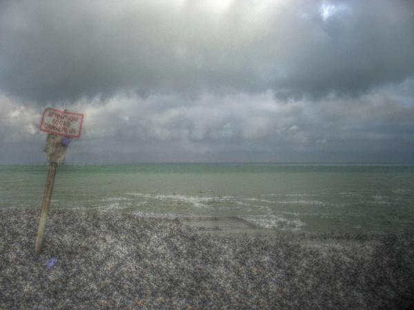 Cayeux-sur-mer - Descente près du sémaphore (Somme - 80410) [2011] (Photo de Didier Desmet) HDR [Artiste Infirme Moteur Cérébral] [Infirmité Motrice Cérébrale] [IMC] [Paralysie Cérébrale] [Cerebral Palsy] [Handicap]