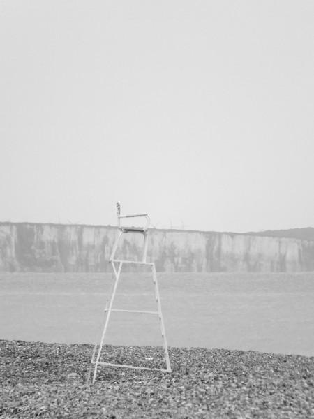 Cayeux-sur-mer - La chaise du maître nageur (Somme - 80410) [2014] (Photo de Didier Desmet) [Artiste Infirme Moteur Cérébral] [Infirmité Motrice Cérébrale] [IMC] [Paralysie Cérébrale] [Cerebral Palsy] [Handicap]