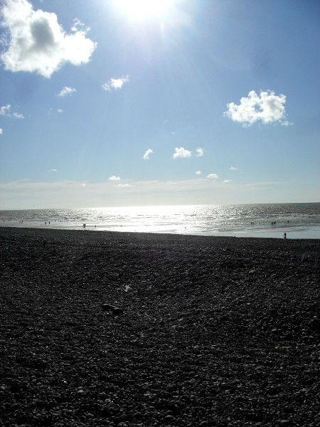 Cayeux-sur-mer - La plage de Brighton (Somme - 80410) [2011] (Photo de Didier Desmet) Août 11 [Artiste Infirme Moteur Cérébral] [Infirmité Motrice Cérébrale] [IMC] [Paralysie Cérébrale] [Cerebral Palsy] [Handicap]