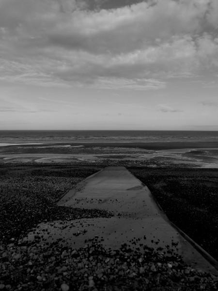 Cayeux-sur-mer - La plage et son épi (Somme - 80410) [2018] (Photo de Didier Desmet) [Artiste Infirme Moteur Cérébral] [Infirmité Motrice Cérébrale] [IMC] [Paralysie Cérébrale] [Cerebral Palsy] [Handicap]