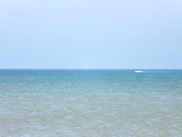 Cayeux-sur-mer - Le bateau (Somme - 80410) [2012] (Photo de Didier Desmet) Juin [Artiste Infirme Moteur Cérébral] [Infirmité Motrice Cérébrale] [IMC] [Paralysie Cérébrale] [Cerebral Palsy] [Handicap]