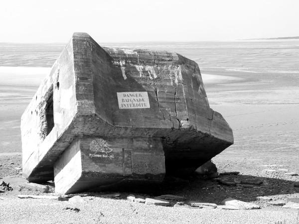 Cayeux-sur-mer - Le blockhaus du Hourdel (Somme - 80410) [2014] (Photo de Didier Desmet) [Artiste Infirme Moteur Cérébral] [Infirmité Motrice Cérébrale] [IMC] [Paralysie Cérébrale] [Cerebral Palsy] [Handicap]