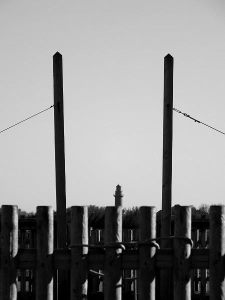 Cayeux-sur-mer - Le phare (Brighton) (Somme - 80410) [2014] (Photo de Didier Desmet) Mars [Artiste Infirme Moteur Cérébral] [Infirmité Motrice Cérébrale] [IMC] [Paralysie Cérébrale] [Cerebral Palsy] [Handicap]