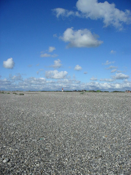Cayeux-sur-mer - Le phare, vue de la plage de Brighton (Somme - 80410) [2011] (Photo de Didier Desmet) Août 2 [Artiste Infirme Moteur Cérébral] [Infirmité Motrice Cérébrale] [IMC] [Paralysie Cérébrale] [Cerebral Palsy] [Handicap]