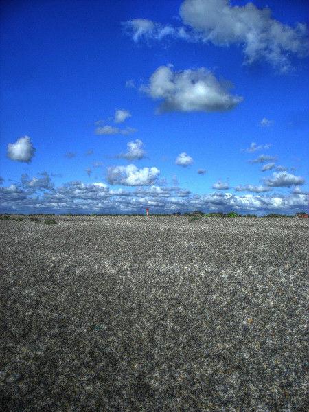 Cayeux-sur-mer - Le phare, vue de la plage de Brighton (Somme - 80410) [2011] (Photo de Didier Desmet) HDR [Artiste Infirme Moteur Cérébral] [Infirmité Motrice Cérébrale] [IMC] [Paralysie Cérébrale] [Cerebral Palsy] [Handicap]