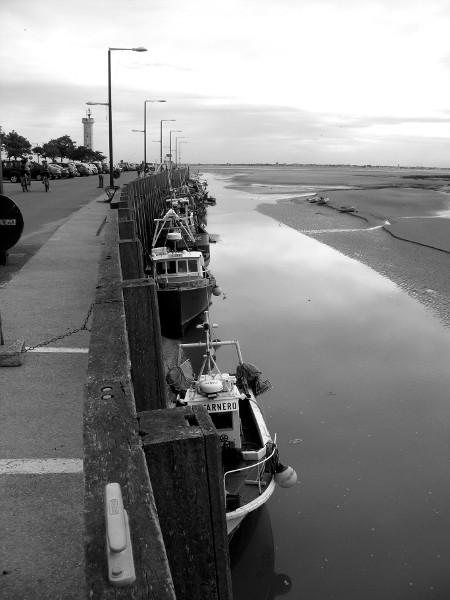 Cayeux-sur-mer - Le port du Hourdel (Somme - 80410) [2011] (Photo de Didier Desmet) Bateaux Août 1 [Artiste Infirme Moteur Cérébral] [Infirmité Motrice Cérébrale] [IMC] [Paralysie Cérébrale] [Cerebral Palsy] [Handicap]