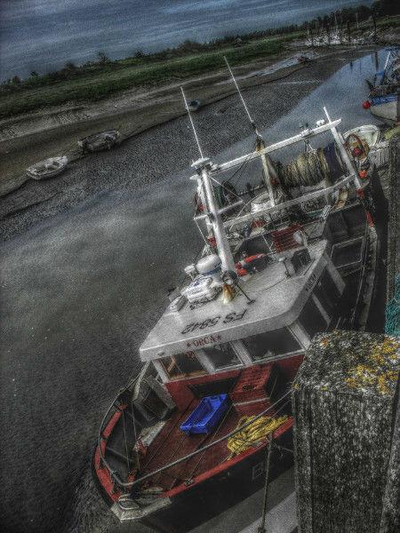 Cayeux-sur-mer - Le port du Hourdel (Somme - 80410) [2011] (Photo de Didier Desmet) HDR [Artiste Infirme Moteur Cérébral] [Infirmité Motrice Cérébrale] [IMC] [Paralysie Cérébrale] [Cerebral Palsy] [Handicap]