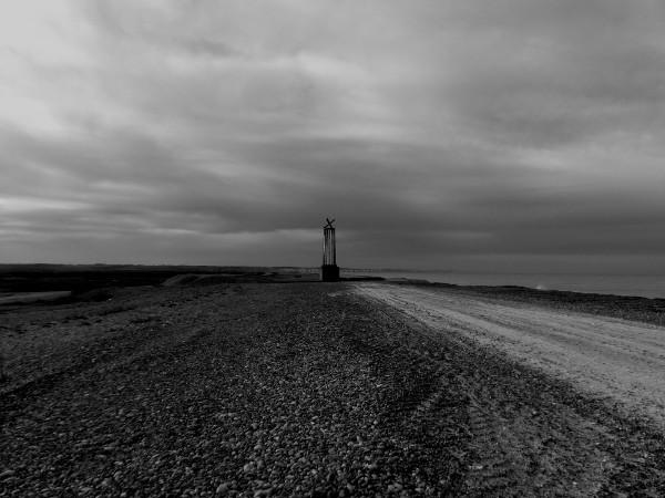 Cayeux-sur-mer - Le sémaphore (L`Amer Sud) (Somme - 80410) [2018] (Photo de Didier Desmet) [Artiste Infirme Moteur Cérébral] [Infirmité Motrice Cérébrale] [IMC] [Paralysie Cérébrale] [Cerebral Palsy] [Handicap]