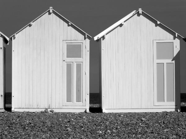 Cayeux-sur-mer - Les cabines (Somme - 80410) [2015] (Photo de Didier Desmet) [Artiste Infirme Moteur Cérébral] [Infirmité Motrice Cérébrale] [IMC] [Paralysie Cérébrale] [Cerebral Palsy] [Handicap]
