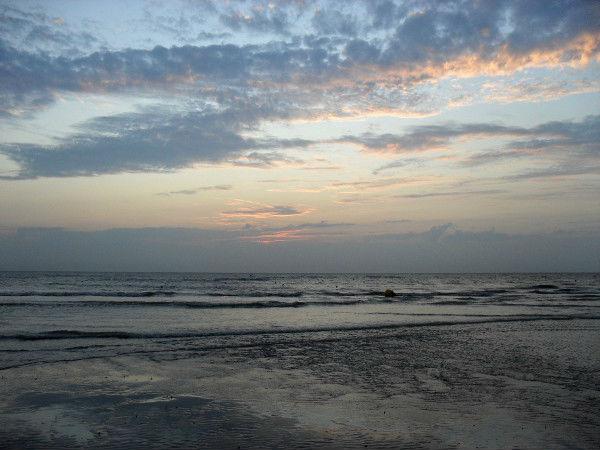 Cayeux-sur-mer (Somme - 80410) [2011] (Photo de Didier Desmet) Coucher de soleil Août 2 [Artiste Infirme Moteur Cérébral] [Infirmité Motrice Cérébrale] [IMC] [Paralysie Cérébrale] [Cerebral Palsy] [Handicap]