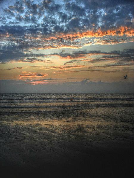 Cayeux-sur-mer (Somme - 80410) [2011] (Photo de Didier Desmet) Coucher de soleil HDR 3 [Artiste Infirme Moteur Cérébral] [Infirmité Motrice Cérébrale] [IMC] [Paralysie Cérébrale] [Cerebral Palsy] [Handicap]