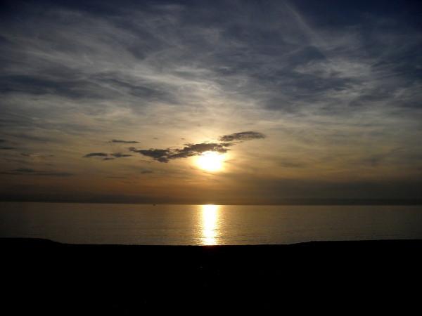 Cayeux-sur-mer (Somme - 80410) [2011] (Photo de Didier Desmet) Coucher de soleil Juin 2 [Artiste Infirme Moteur Cérébral] [Infirmité Motrice Cérébrale] [IMC] [Paralysie Cérébrale] [Cerebral Palsy] [Handicap]