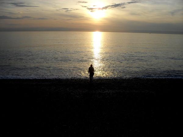 Cayeux-sur-mer (Somme - 80410) [2011] (Photo de Didier Desmet) Coucher de soleil Juin 3 [Artiste Infirme Moteur Cérébral] [Infirmité Motrice Cérébrale] [IMC] [Paralysie Cérébrale] [Cerebral Palsy] [Handicap]