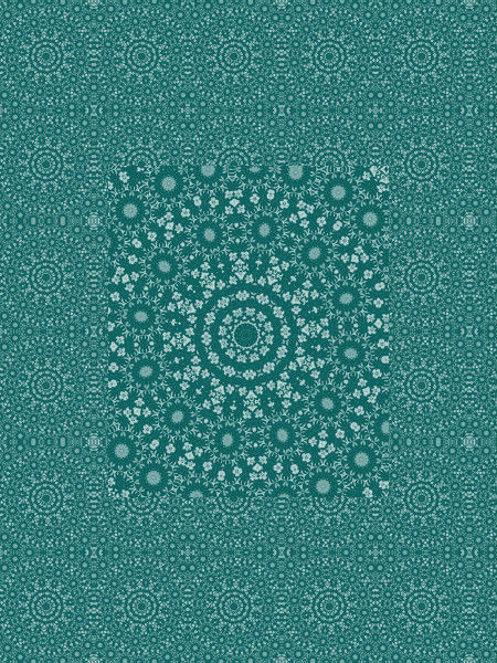 Cristaux des mers du sud [2012] (Création et conception graphique de Didier Desmet) [Motif] [Pattern] [Motifs] [Patterns] [Artiste Infirme Moteur Cérébral] [Infirmité Motrice Cérébrale] [IMC] [Paralysie Cérébrale] [Cerebral Palsy] [Handicap]