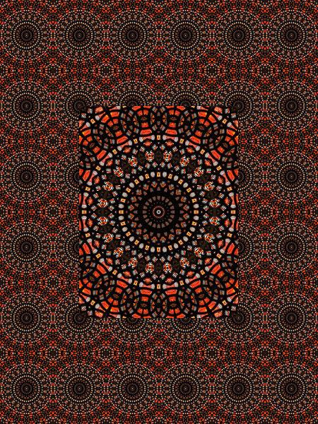 Dentelle de verre et d'acier #1 [2012] (Création et conception graphique de Didier Desmet) [Motif] [Pattern] [Motifs] [Patterns] [Artiste Infirme Moteur Cérébral] [Infirmité Motrice Cérébrale] [IMC] [Paralysie Cérébrale] [Cerebral Palsy] [Handicap]