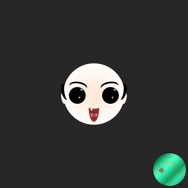 """Didies [BD] [Les Schtroumpfs (Peyo (dessin et scénario), 1958) adaptée en dessin animé (""""The Smurfs"""" en anglais) en 1981] Gargamel, le sorcier [2018] (Création et conception graphique de Didier Desmet) [Artiste Infirme Moteur Cérébral] [Infirmité Motrice Cérébrale] [IMC] [Paralysie Cérébrale] [Cerebral Palsy] [Handicap] [Kawaii]"""