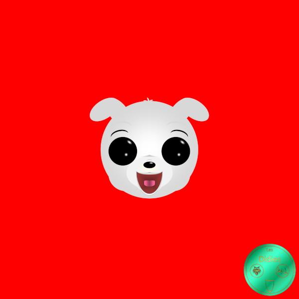 Didies [Betty Boop, personnage créé par les Fleischer Studios en 1930] Le chien Bimbo [2019] (Création et conception graphique de Didier Desmet) [Artiste Infirme Moteur Cérébral] [Infirmité Motrice Cérébrale] [IMC] [Paralysie Cérébrale] [Cerebral Palsy] [Handicap] [Kawaii]