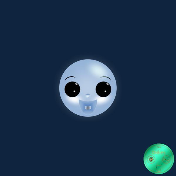 Didies [Casper le gentil fantôme (Casper the Friendly Ghost), 1945] Casper [2018] (Création et conception graphique de Didier Desmet) [Artiste Infirme Moteur Cérébral] [Infirmité Motrice Cérébrale] [IMC] [Paralysie Cérébrale] [Cerebral Palsy] [Handicap] [Kawaii]