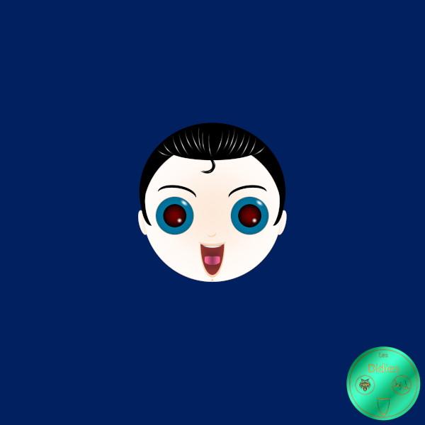 Didies [DC Comics] Clark Kent alias Superman (Kal-El) (Vision thermique) [2016-2018] (Création et conception graphique de Didier Desmet) [Artiste Infirme Moteur Cérébral] [Infirmité Motrice Cérébrale] [IMC] [Paralysie Cérébrale] [Cerebral Palsy] [Handicap] [Kawaii]