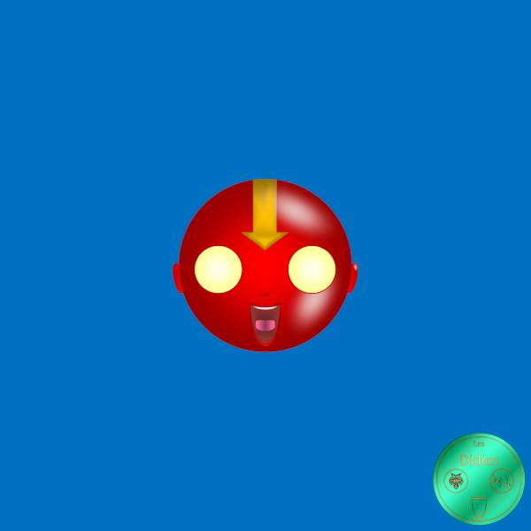 Didies [DC Comics] John Smith alias Red Tornado [2014-2016-2018] (Création et conception graphique de Didier Desmet) [Artiste Infirme Moteur Cérébral] [Infirmité Motrice Cérébrale] [IMC] [Paralysie Cérébrale] [Cerebral Palsy] [Handicap] [Kawaii]