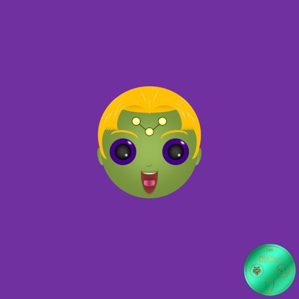 Didies [DC Comics] Querl Dox alias Brainiac 5 [2014-2016-2018] (Création et conception graphique de Didier Desmet) [Artiste Infirme Moteur Cérébral] [Infirmité Motrice Cérébrale] [IMC] [Paralysie Cérébrale] [Cerebral Palsy] [Handicap] [Kawaii]