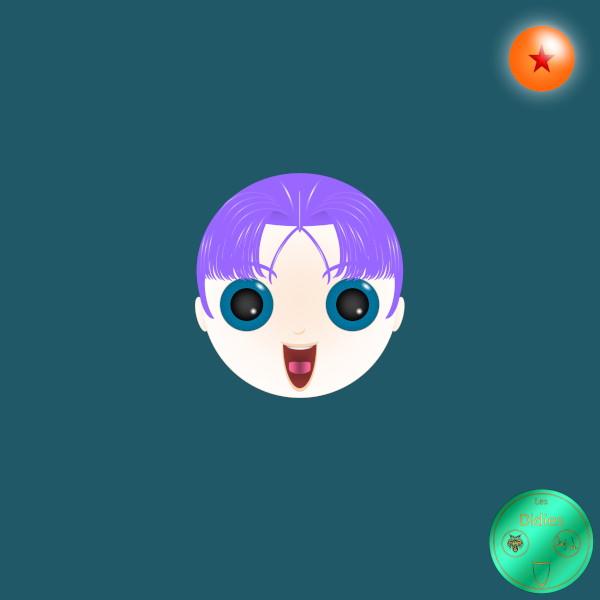 Didies [Dragon Ball Z (Doragon Bru Zetto), 1988] Trunks (Torankusu) [2014-2016-2018] (Création et conception graphique de Didier Desmet) [Artiste Infirme Moteur Cérébral] [Infirmité Motrice Cérébrale] [IMC] [Paralysie Cérébrale] [Cerebral Palsy] [Handicap] [Kawaii]