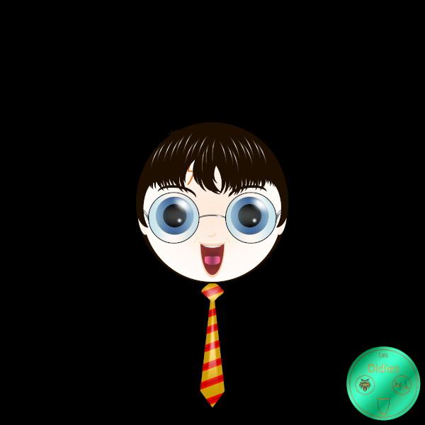 Didies [Harry Potter (8 films), 2001 à 2011 (daprès J. K. Rowling)] Harry Potter (interprété par Daniel Radcliffe) [2014-2016-2018-2020] (Création et conception graphique de Didier Desmet)