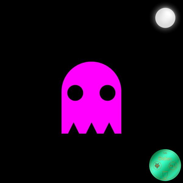 Didies [Jeux] Pinky - Speedy (Rapide) (Jeu Video Pac-Man, Namco, 1980) [2018] (Création et conception graphique de Didier Desmet) [Artiste Infirme Moteur Cérébral] [Infirmité Motrice Cérébrale] [IMC] [Paralysie Cérébrale] [Cerebral Palsy] [Handicap] [Kawaii]