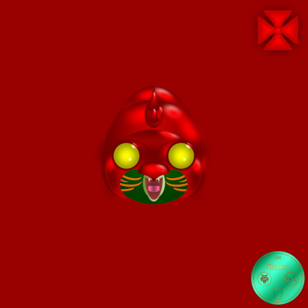 Didies [Les Maîtres de l`univers (He-Man and the Masters of the Universe ou M.O.T.U.), 1981] Cringer, Tigre de combat (Battle Cat) [2014-2016-2018-2020] (Création et Conception graph.de Didier Desmet) [Artiste Infirme Moteur Cérébral] [Infirmité Motrice Cérébrale] [IMC] [Paralysie Cérébrale] [Cerebral Palsy] [Handicap] [Kawaii]