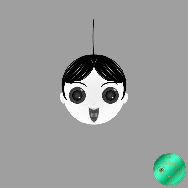 Didies [Les Petites Canailles (Our Gang ou The Little Rascals), 1922] Alfalfa (Carl Switzer) [2016-2018] (Création et conception graphique de Didier Desmet) [Artiste Infirme Moteur Cérébral] [Infirmité Motrice Cérébrale] [IMC] [Paralysie Cérébrale] [Cerebral Palsy] [Handicap] [Kawaii]