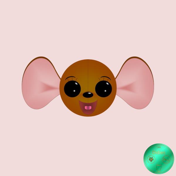 Didies [Les aventures de Winnie l`ourson (The Many Adventures of Winnie the Pooh), Walt Disney, 1977] Maman Gourou [2019] (Création et conception graphique de Didier Desmet) [Artiste Infirme Moteur Cérébral] [Infirmité Motrice Cérébrale] [IMC] [Paralysie Cérébrale] [Cerebral Palsy] [Handicap] [Kawaii]