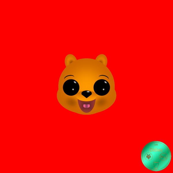 Didies [Les aventures de Winnie l`ourson (The Many Adventures of Winnie the Pooh), Walt Disney, 1977] Winnie [2019] (Création et conception graphique de Didier Desmet) [Artiste Infirme Moteur Cérébral] [Infirmité Motrice Cérébrale] [IMC] [Paralysie Cérébrale] [Cerebral Palsy] [Handicap] [Kawaii]