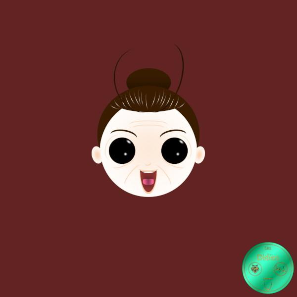 Didies [Madame Pepperpote (Spoon Oba-san), 1983] Madame Pepperpote (Mrs. Pepper Pot) [2014-2016-2018] (Création et conception graphique de Didier Desmet) [Artiste Infirme Moteur Cérébral] [Infirmité Motrice Cérébrale] [IMC] [Paralysie Cérébrale] [Cerebral Palsy] [Handicap] [Kawaii]