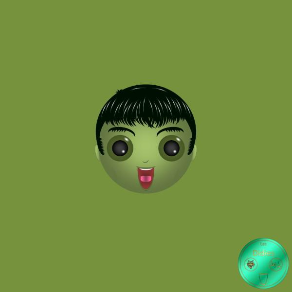 Didies [Marvel Comics] Bruce Banner alias Hulk [2014-2016-2018] (Création et conception graphique de Didier Desmet) [Artiste Infirme Moteur Cérébral] [Infirmité Motrice Cérébrale] [IMC] [Paralysie Cérébrale] [Cerebral Palsy] [Handicap] [Kawaii]