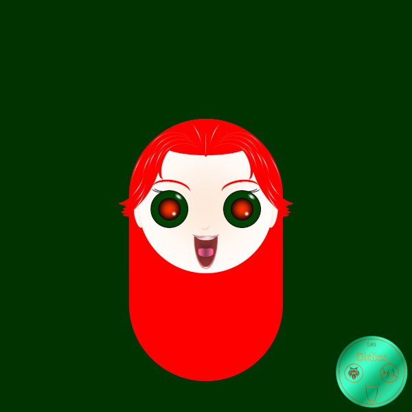 Didies [Marvel Comics] Jean Grey alias Phénix (Phoenix) [2014-2016-2018] (Création et conception graphique de Didier Desmet) [Artiste Infirme Moteur Cérébral] [Infirmité Motrice Cérébrale] [IMC] [Paralysie Cérébrale] [Cerebral Palsy] [Handicap] [Kawaii]