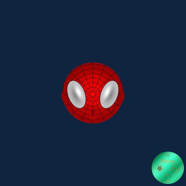 Didies [Marvel Comics] Peter Parker alias Spider-Man [2014-2016-2018] (Création et conception graphique de Didier Desmet) [Artiste Infirme Moteur Cérébral] [Infirmité Motrice Cérébrale] [IMC] [Paralysie Cérébrale] [Cerebral Palsy] [Handicap] [Kawaii]