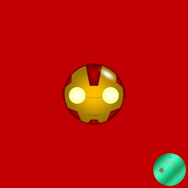 Didies [Marvel Comics] Tony Stark alias Iron Man [2014-2016-2018] (Création et conception graphique de Didier Desmet) [Artiste Infirme Moteur Cérébral] [Infirmité Motrice Cérébrale] [IMC] [Paralysie Cérébrale] [Cerebral Palsy] [Handicap] [Kawaii]